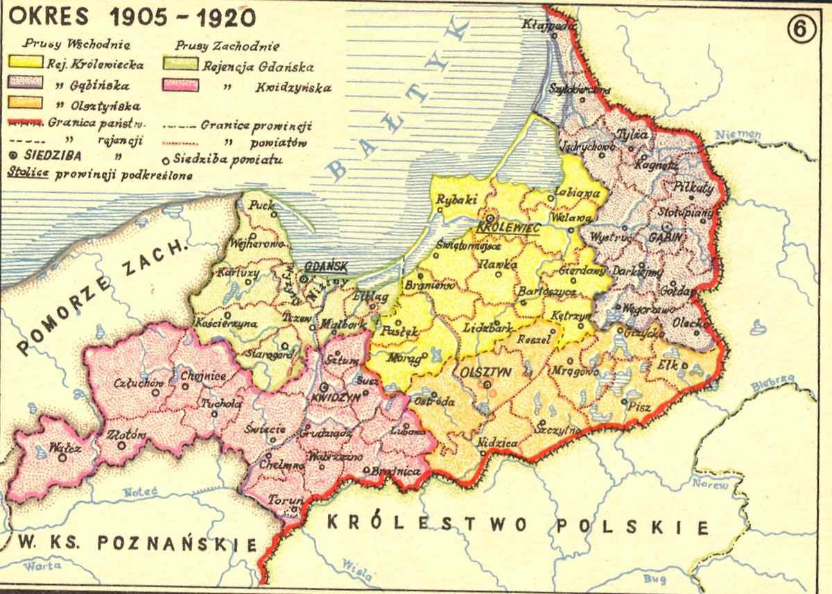map number  defeat of teutonic prussia in year  poland regains itsindependence with  of west prussia territory. prussians  history conquest extermination of ancient baltic nation